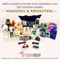 Golden Globes Gifting Suite 2017